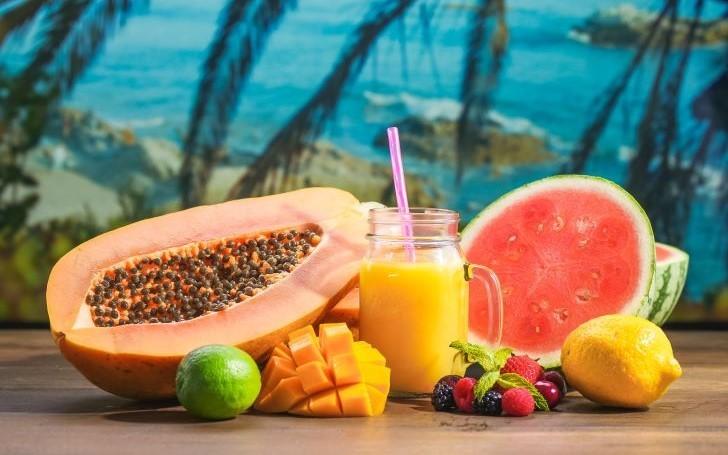 immunity-boosting papaya drink
